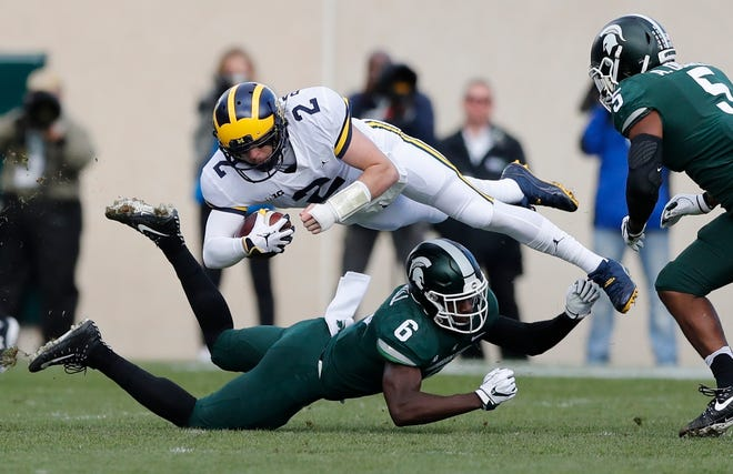 Michigan and Michigan State meet on Nov. 16 in Ann Arbor.