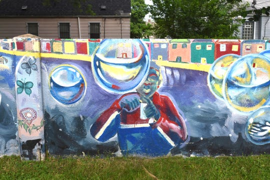 Local artists transformed the Birwood Wall  a few years ago.  Now a grant from the National Park Service awarded to the City of Detroit Historic Designation Advisory Board will help identify other historic properties and preserve them for the future.