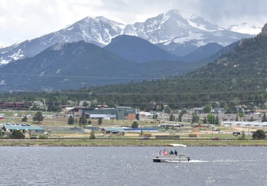 The Lake Estes Marina is operated by the Estes Valley Recreation and Park District.
