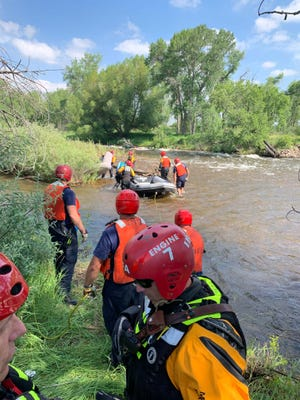 PFA in the Poudre River for the rescue.