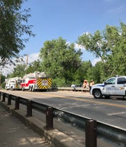 Poudre Fire Authority near Lions Park Open Space for the rescue.