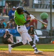 Great Falls Voyagers batter Caberea Weaver had three hits, including two triples, and scored twice in Wednesday's 5-3 win over Rocky Mountain at Centene Stadium.