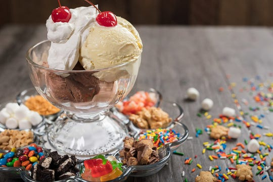Visit Conner's Kitchen + Bar on your birthday, and you can get a free dessert, such as the hot fudge sundae featuring 12 different toppings.