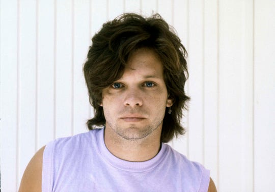 John Mellencamp poses in 1982.