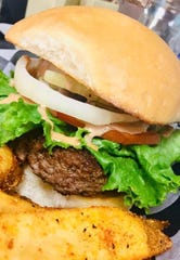 "B & B Meat Market and Deli's made-from-scratch burgers topped with a secret sauce have garnered the Mississippi Beef Council's ""Best Burger in Mississippi"" award in 2017 and 2019."