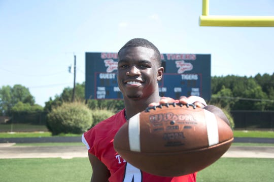 South Panola High School senior athlete Janari Dean is a standout in Mississippi football and with 2030 rushing yards and 19 touchdowns he easily makes the Clarion Ledger's 2019 Dandy Dozen. Tuesday, July 2, 2019.