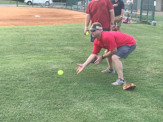 Ben Howard has helped coach his children's baseball and softball teams for the past seven years when needed. He played pro baseball from 1997-2008.