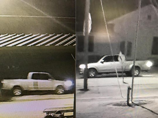The Crockett County Sheriff's Office is searching for the owner of this gray Toyota, who is believed to have fired  a firework that injured two children on June 29.