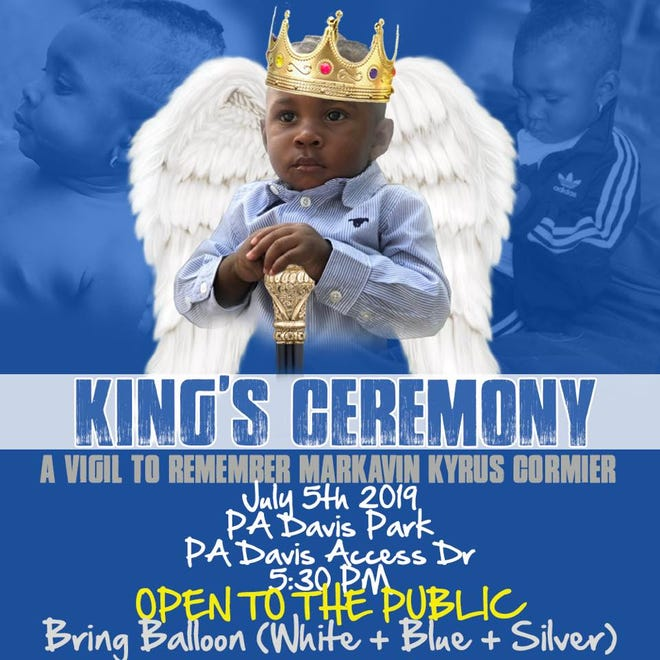 A vigil is being held Friday night for the boy was killed in a shooting over the weekend.