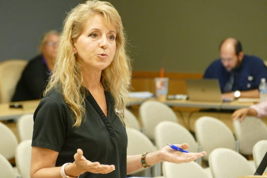 "Nancy Sciog, general manager of Duane Thomas Marine, said that the list of violations that the Marco Island staff shared with the Planning Board were mostly done by people who are not seawall contractors.  She said that her company appears 10 times in the least. ""Of the 10, eight of them were not for staging or manufacturing seawalls, it was for trespassing,"" Sciog said."