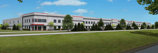 A large industrial building is being proposed for a Germantown site near two new buildings being developed for Briggs & Stratton Corp. and Dielectric Corp.