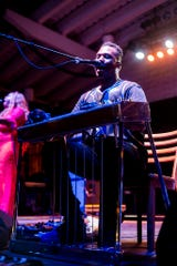 Robert Randolph and the Family Band performs at the Johnson Controls World Sound Stage on July 4, 2019.