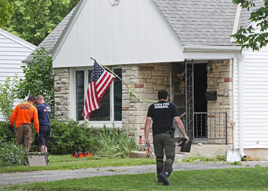State fire marshals and other investigators were at the scene of a fatal fire in Cedarburg on Hillcrest Avenue, near the intersection with Lincoln Boulevard.