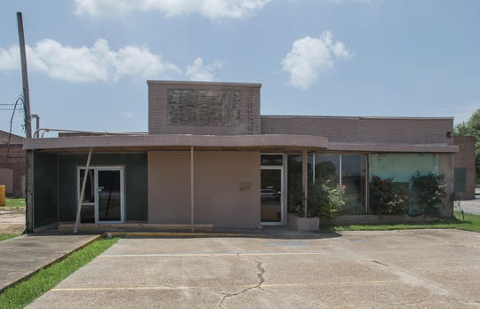 The front of the soon to open Griffin Wine Room located at 307 North Second Street in Monroe, La. There isn't an opening date set for the venue as of yet.