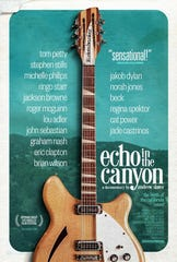"Film poster for Laurel Canyon documentary, ""Echo in the Canyon."""