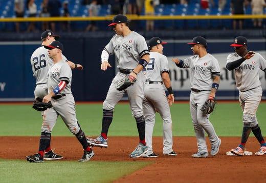 on sale 83184 de51c New York Yankees rally to win with DJ LeMahieu leading way