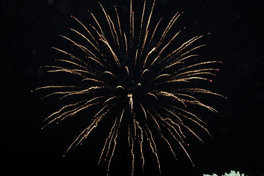 Carlsbad showed patriotic colors during the Fourth of July.