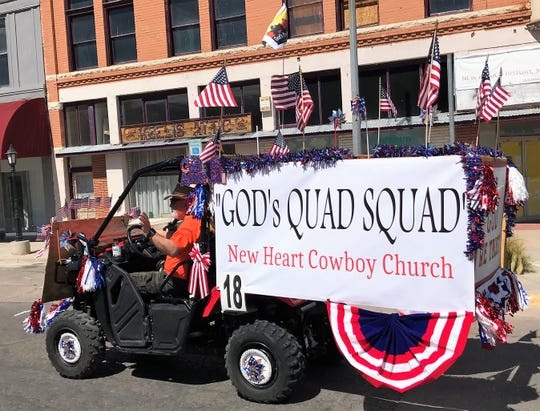 The Alamogordo July 4 Parade was held Thursday morning at 10 a.m. and went down East 10th Street and turned onto New York Avenue.