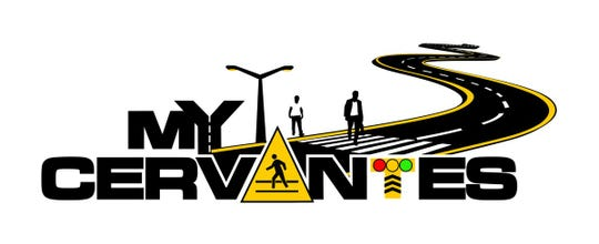Florida Department of Transportation's logo for the West Cervantes Street pedestrian safety improvement project.