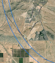 Goodyear officials say the proposed I-11's 2,000-foot corridor passes too close to 1,500 homes on the city's south side.