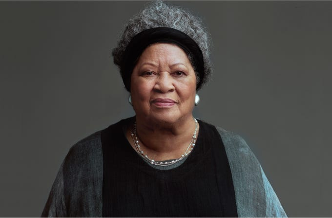 "In ""Toni Morrison: The Pieces I Am,"" the author looks into the camera and directly addresses the viewer."