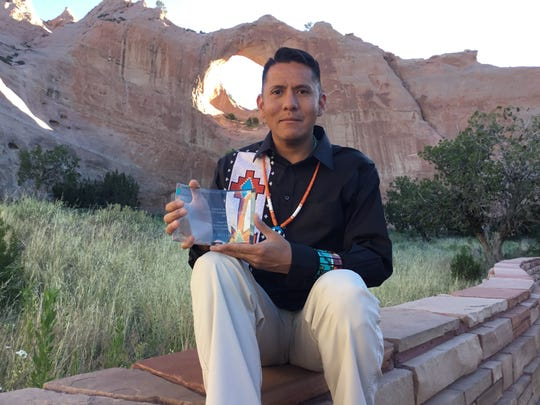 In May, teacher Duane Yazzie received the Little Free Library's Todd H. Bol Award for Outstanding Achievement for creating a network of reading exchanges on the Navajo Nation.