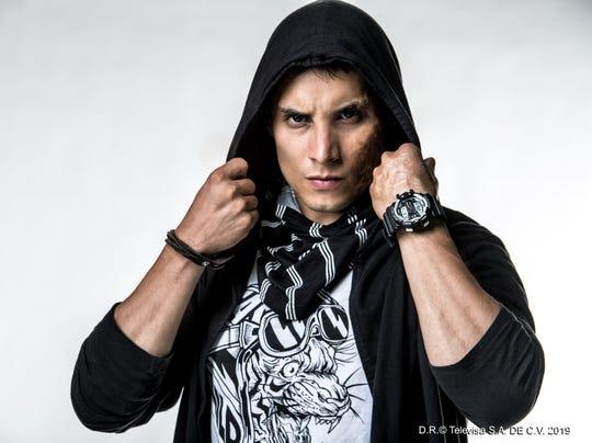 """Alex Perea, protagonista de """"Sin Miedo a la Verdad""""."""