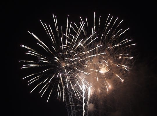 Fireworks will be set off from a barge on Fourth of July in Dewey Beach.
