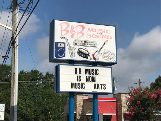B&B Music in Camden, Lewes, and Salisbury were bought by Music & Arts, a national music retailer chain.