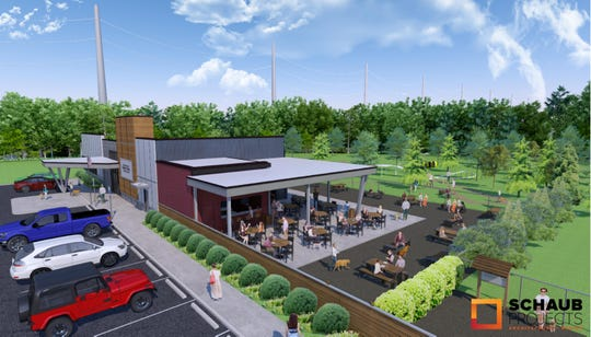 "Bark Yard is a ""dog-oriented development"" expected to be built on the 3000 block of Cherry Street and open mid-2020. It would include an off-leash dog park; a covered patio with beer, wine and cocktails; dog day care and boarding service and a retail space."