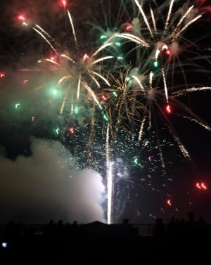 St. Cloud Area Fireworks came to an end with a grand finale, Thursday, July 4, 2019 at Hester Park.
