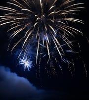 St. Cloud Area Fireworks on July 4, 2019 at Hester Park.
