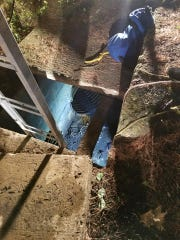 Thornwood firefighters and other responders helped to rescue a dog that was 13 feet inside of a pipe during a rescue effort that spanned some 3.5 hours overnight Friday.