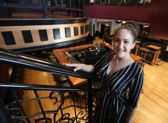 Rachel Karwaski, owner of the UP Lounge & Restaurant in Nyack July 2, 2019.