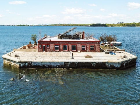 Private island for sale, just off the coast of New Rochelle. Price? $13 million