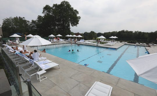The pool at the Fenway Golf Club in Scarsdale July 5, 2019.