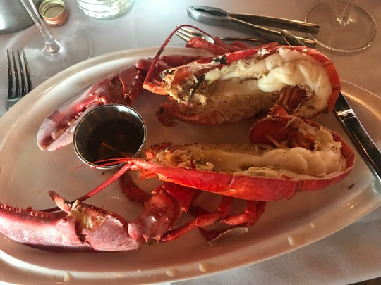 Harvest Tide Steakhouse in Lewes has lobster specials. We got a whole 1 1/2 pound lobster in June for $15. Call the restaurant for details.