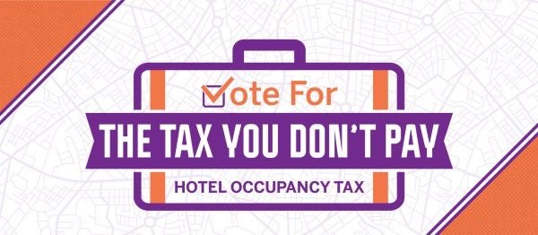 The Wichita Falls Convention and Visitors Bureau is starting an information campaign about what a 2 percent increase in the hotel occupancy tax could do for the city. The tax only applies to visitors staying in hotels/motels in the city.