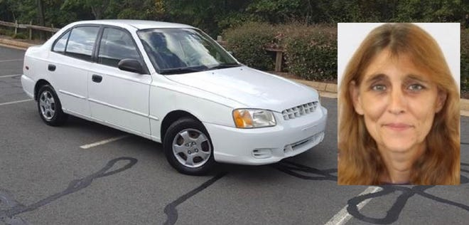 Tammy Neace is described as a white female, 5 feet, 5 inches tall, 105 pounds, with brown hair and green eyes. She is believed to be in a white 2001 Hyundai Accent four door with Ohio license plate number FIX8138.