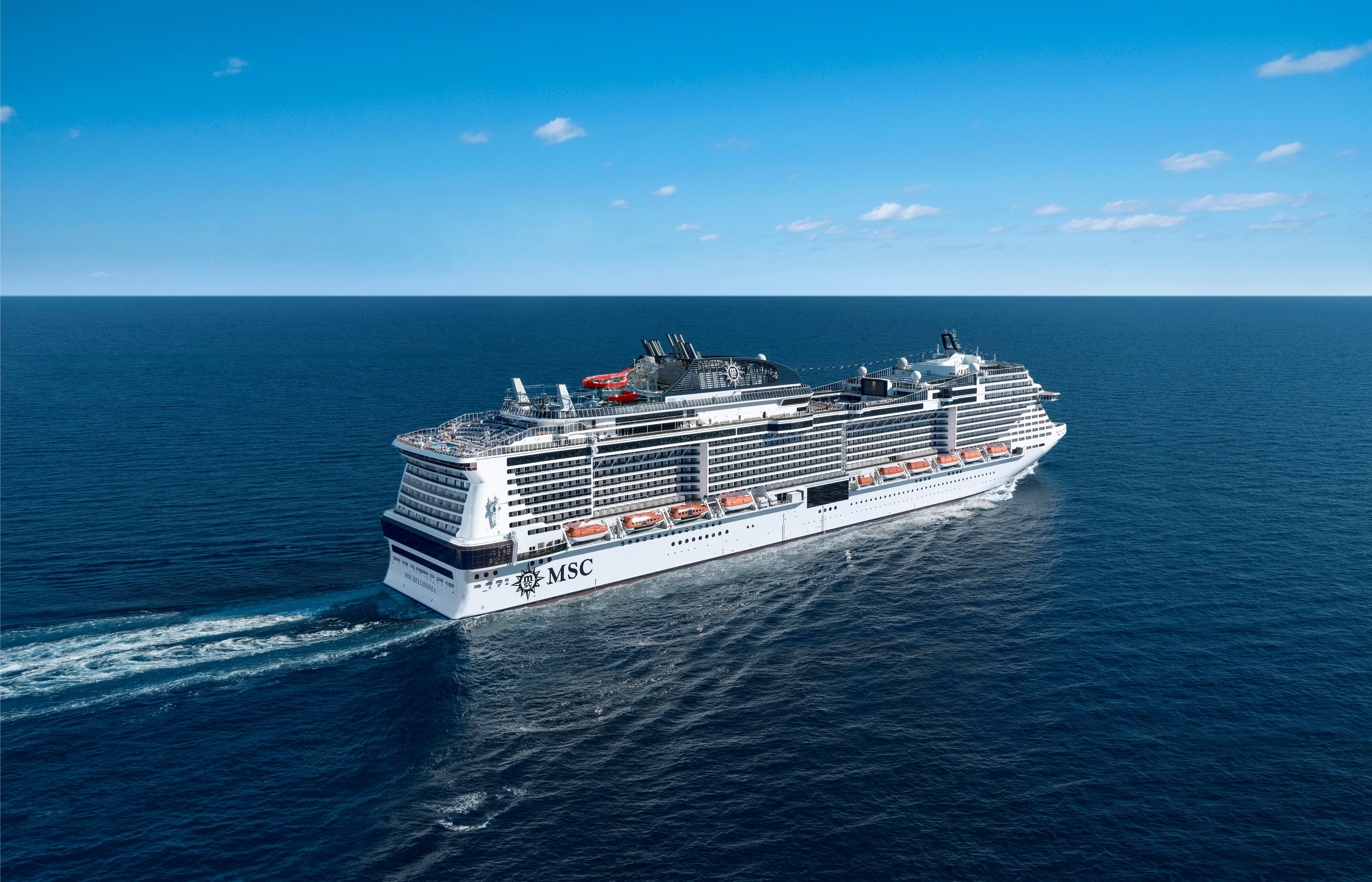 Cruise Ship Tours: MSC Cruises' New MSC Bellissima