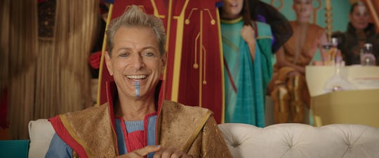 "Grandmaster (Jeff Goldblum) is the oddball Elder of the Universe in ""Thor: Ragnarok."""