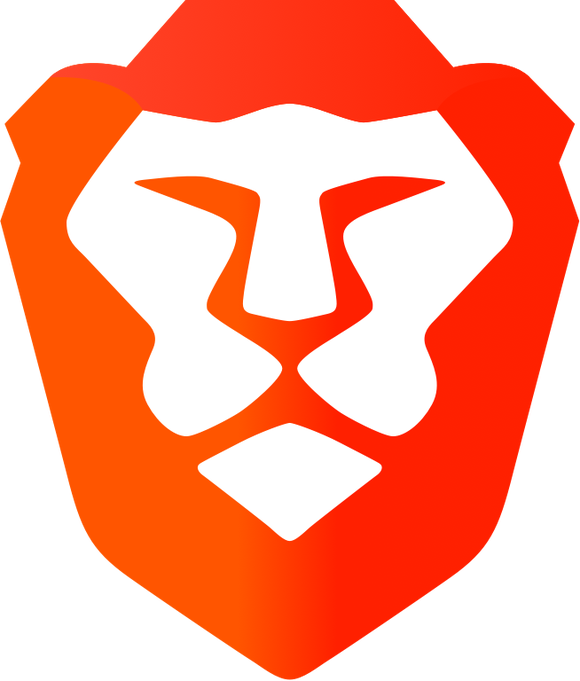 The logo for the Brave browser