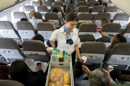 """""""Make it a point to engage the flight attendant with a smile and a kind word,"""" advises frequent flier Leigh Ann Newman, a senior program manager for an international government consulting firm."""