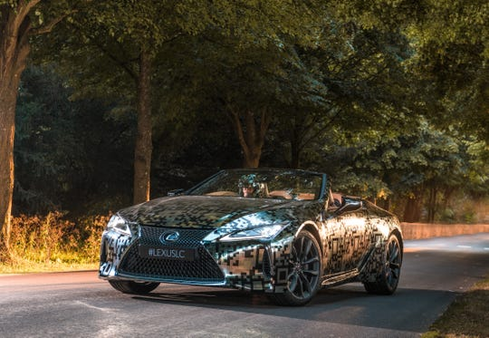 The convertible model was unveiled at this year's Goodwood Festival of Speed in the UK driven by Nick Cassidy, a professional race driver.