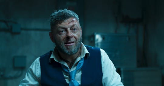 "Ulysses Klaue (Andy Serkis) has big plans for Wakanda's vibranium in ""Black Panther."""