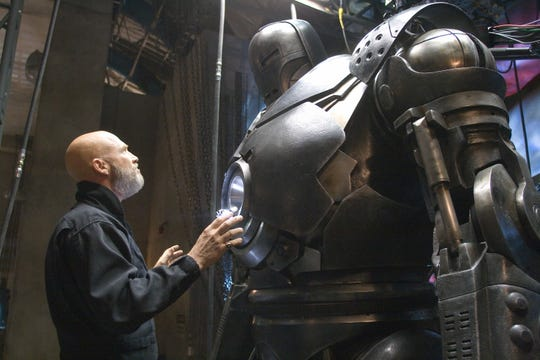 "Obadiah Stane (Jeff Bridges) schemes to take over Tony Stark's tech for himself in ""Iron Man."""