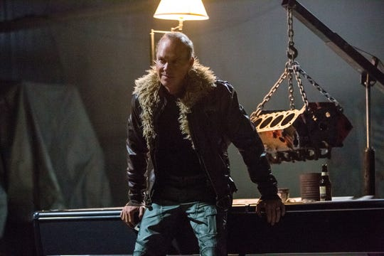 "The Vulture (Michael Keaton) has dual roles as supervillain and family man in ""Spider-Man: Homecoming."""