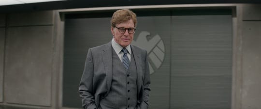 "Robert Redford got his villain on as Alexander Pierce in ""Captain America: The Winter Soldier."""