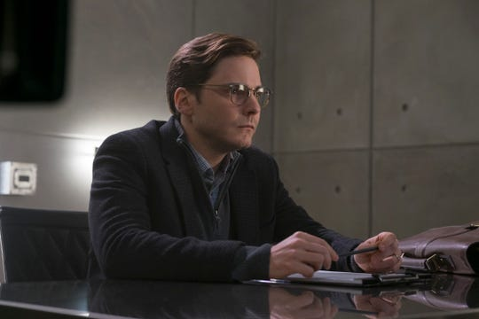 "Helmut Zemo (Daniel Bruhl) does serious damage to Cap and Iron Man's friendship in ""Captain America: Civil War."""