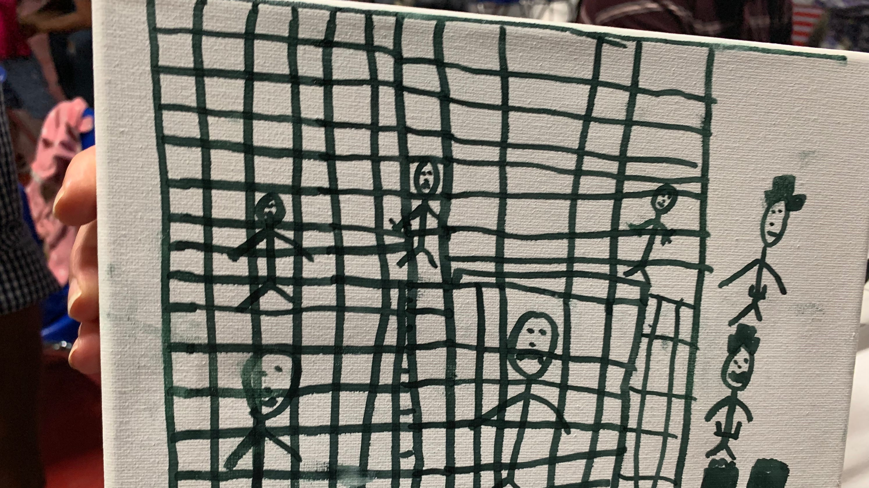 Doctors share migrant children's haunting drawings: 'These children coming into our country need a voice'